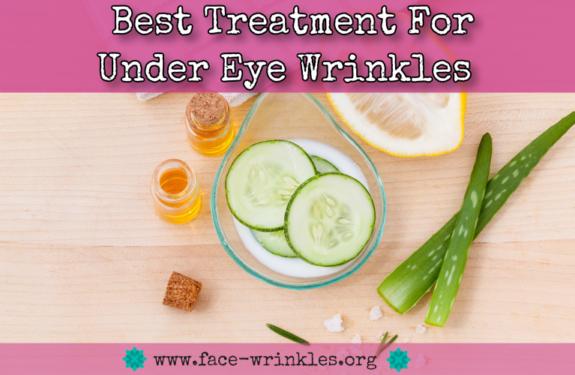 Best Treatment For Under Eye Wrinkles : Tips On Reducing Fine Lines